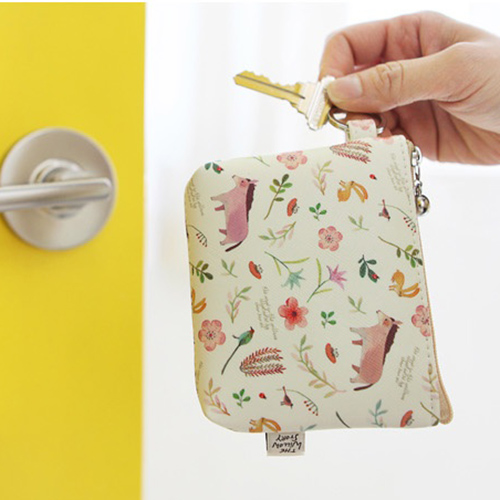 Маленький кошелек 'Willow Story pattern Coin Wallet' - Yellow
