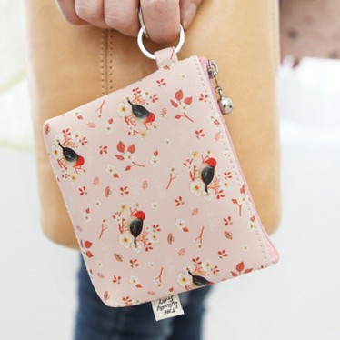 Маленький кошелек 'Willow Story pattern Coin Wallet' - Pink