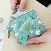 Маленький кошелек 'Willow Story pattern Coin Wallet' - Mint
