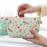 Косметичка 'Willow Story pattern Pouch' - Yellow