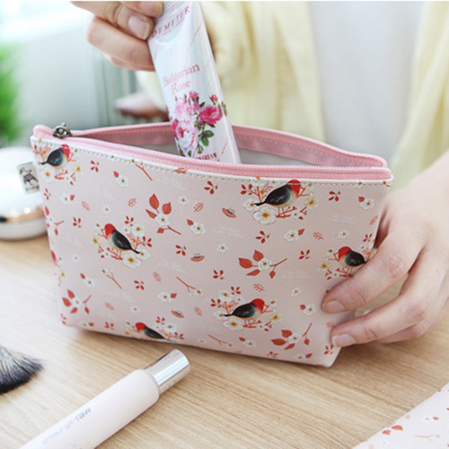 Косметичка 'Willow Story pattern Pouch' - Pink