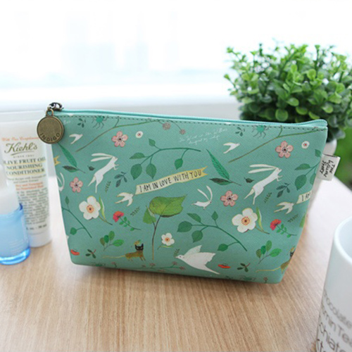 Косметичка 'Willow Story pattern Pouch' - Mint