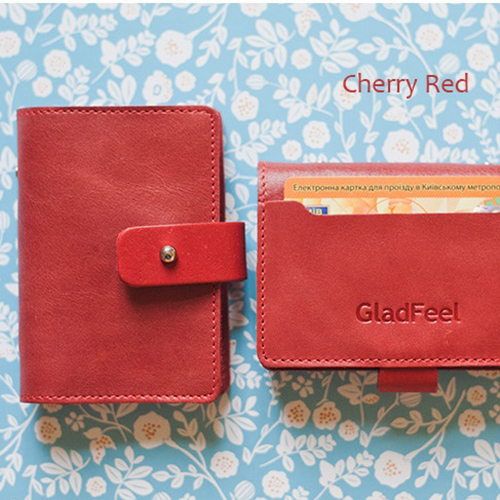 Картхолдер 'GladFeel (S)' - Cherry red