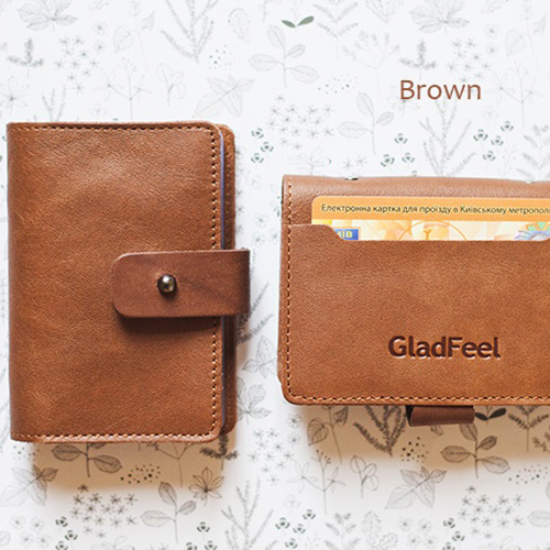 Картхолдер 'GladFeel (S)' - Brown