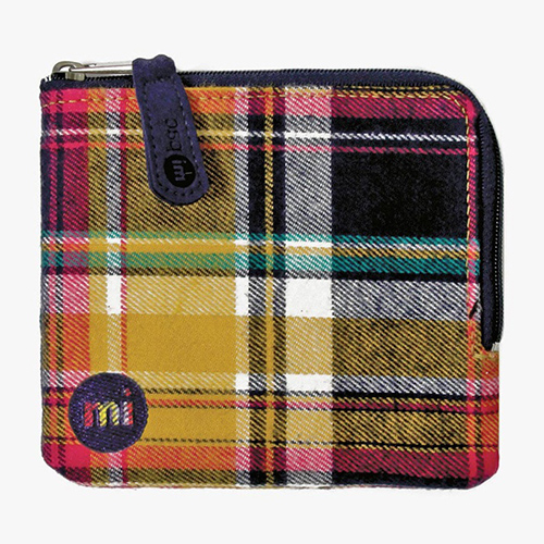 Кошелек 'Mi-Pac Coin Holder' - Tartan Navy