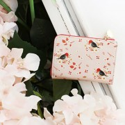 Кошелек 'Willow Pattern Zipper Card Wallet' - Pink