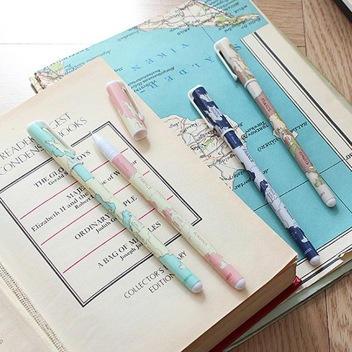 Ручки 'World Map Ballpen'