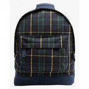 Рюкзак 'Mi-Pac Tartan' - Black Watch/Yellow