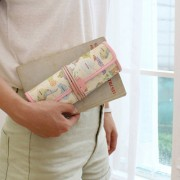 Пенал 'Indimap Roll Pencil Case' - Pastel