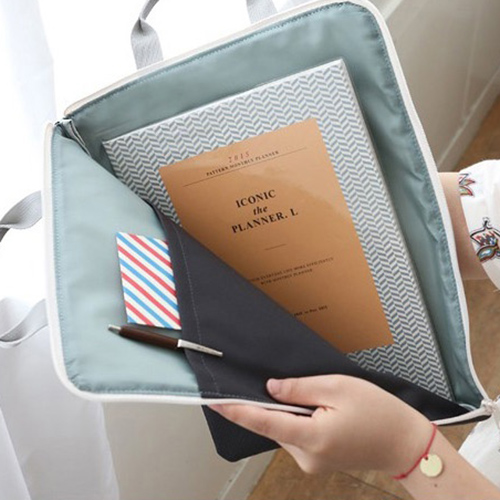 Папка 'Basic Pouch A4' - Indi blue