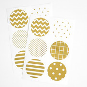 Наклейки 'Gold Sticker - 02 Pattern'