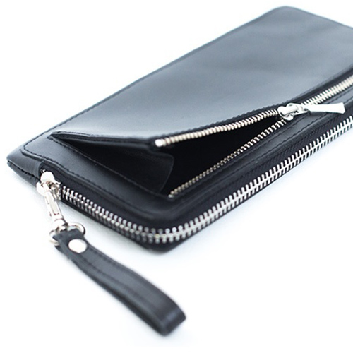 Портмоне 'Gladfeel Long Zipper Wallet' v.1 - Mint Grey