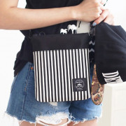 Сумка 'Tripping Cross Bag' - Balck Stripe