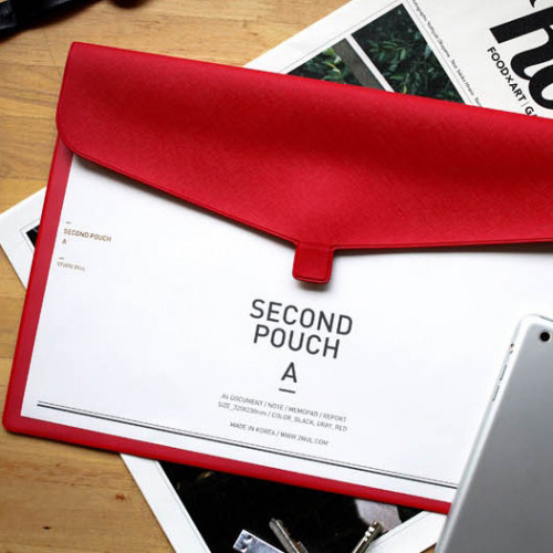 Папка 'Second Pouch A' - Red