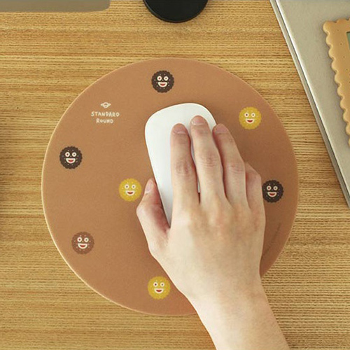 Коврик для мышки 'Standard Round Mouse Pad' - Cookie