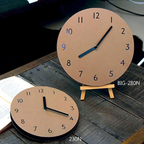 Часы 'Sandwich Clock Number Type' - Kraft