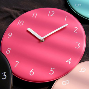 Часы 'Color Pop Clock - Pink