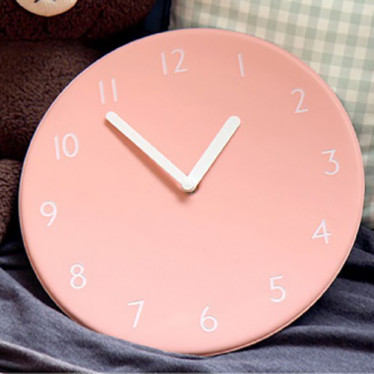 Часы 'Color Pop Clock - Peach