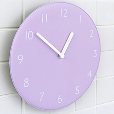 Часы 'Color Pop Clock - Lavender