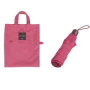 Зонт складной 'Lifestudio Solid Folding Umbrella' - Cherry Pink
