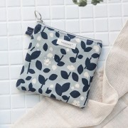 Косметичка 'Promenade Coating Mini Pouch' - Rain Flower - Navy