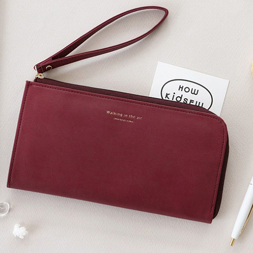Кошелек 'Passport Organizer' - Burgundy