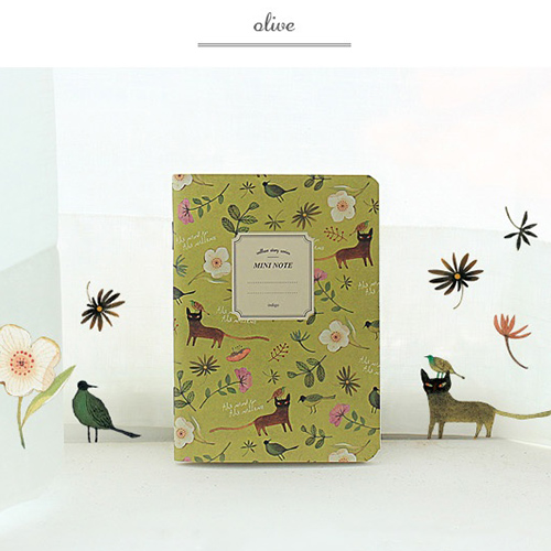Тетрадь 'Willow Story Mini Note'