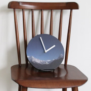 Часы 'Object Clock_Color' - Snow Mountain