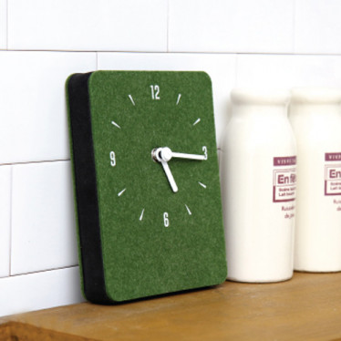 Часы 'Sandwich Clock Mini Felt' -  Khaki