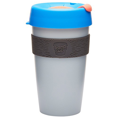 Чашка KeepCup Large 'Tasting Notes' - Ash