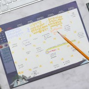 Планировщик 'The Bonbon Desk Monthly Pad'