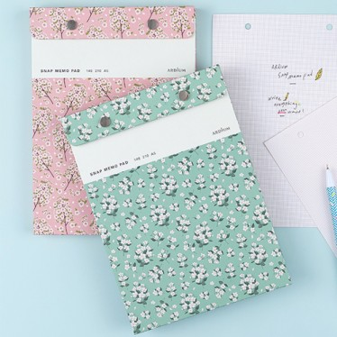 Блокнот 'Ardium Pattern Snap Memo Pad'