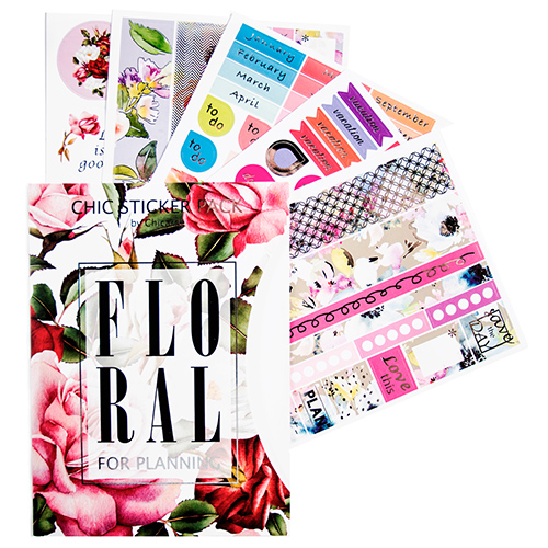 Наклейки 'Chic Sticker Pack By Chicardi, Floral'