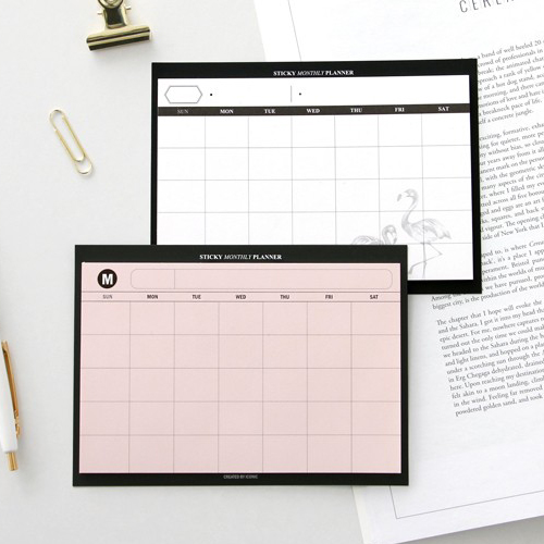 Планировщик 'Sticky Monthly Planner'