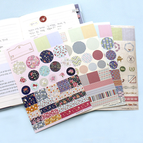 Наклейки 'Deco Stickers Set'