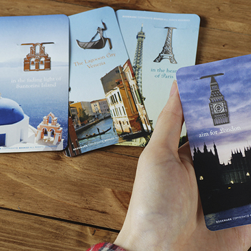 Закладка для книг 'ABC Bookmarks - Fascinating Trip'
