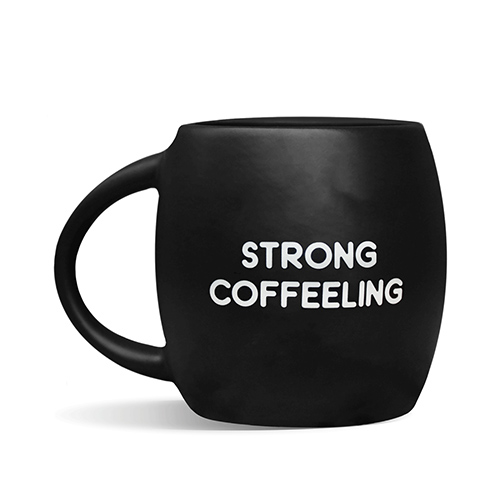 Кружка 'Strong coffeelling'