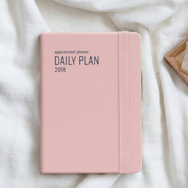 Ежедневник '2018 Appointment Planner' - A6 Daily