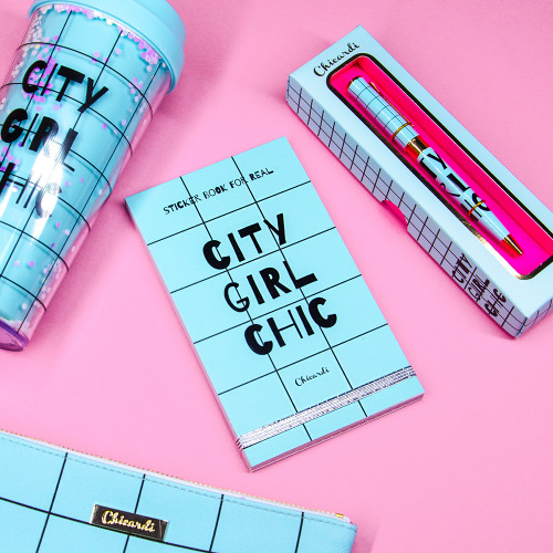 Книга с наклейками 'Sticker Book For Real City Girl Chic'