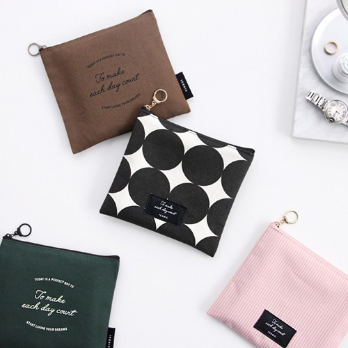 Косметичка 'Plain Flat Pouch M'