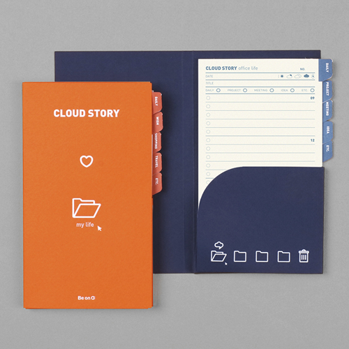 Блокнот 'Cloud Story Life Check List'