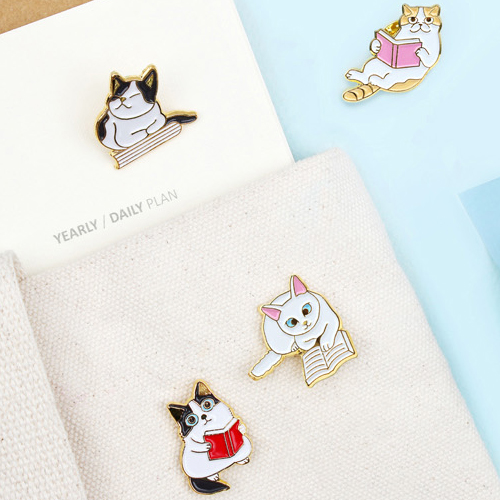 Значок 'Companion badge Let's Read' - Cats