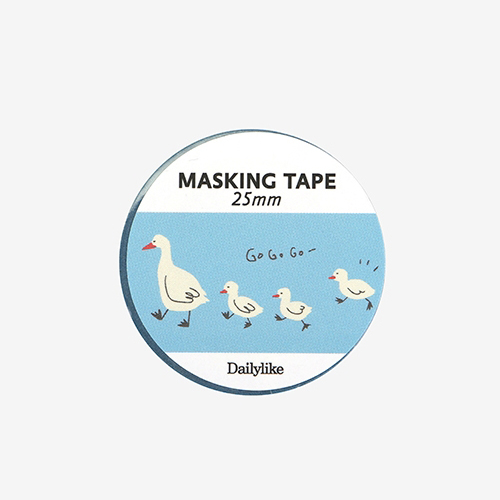 Декоративный скотч 'Masking Tape 25mm' - 01 Duck