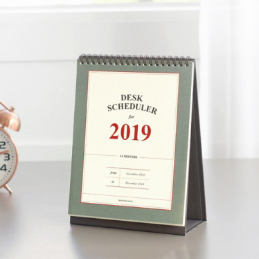 Календарь '2019 Desk Scheduler'
