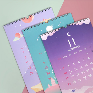 Календарь '2019 Moonlight Wall Calendar'