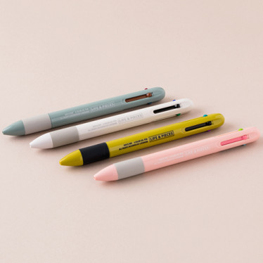 Ручка 'Life & Peace 4 Color Gel Pen'