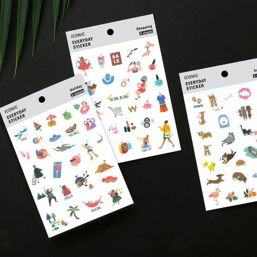 Наклейки 'Everyday Sticker'