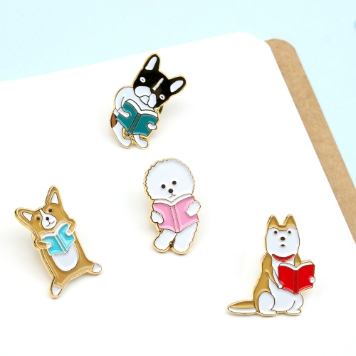 Значок 'Reading pet badge' - Dogs