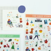 Наклейки 'The Daily Story Sticker'