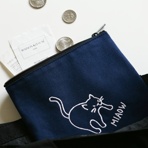 Косметичка 'Embroidered Pouch' 13-17